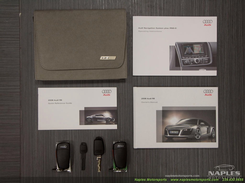 2008 Audi R8 Quattro - Photo 59 - Naples, FL 34104