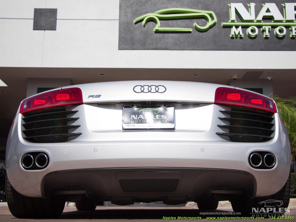 2008 Audi R8 Quattro - Photo 41 - Naples, FL 34104