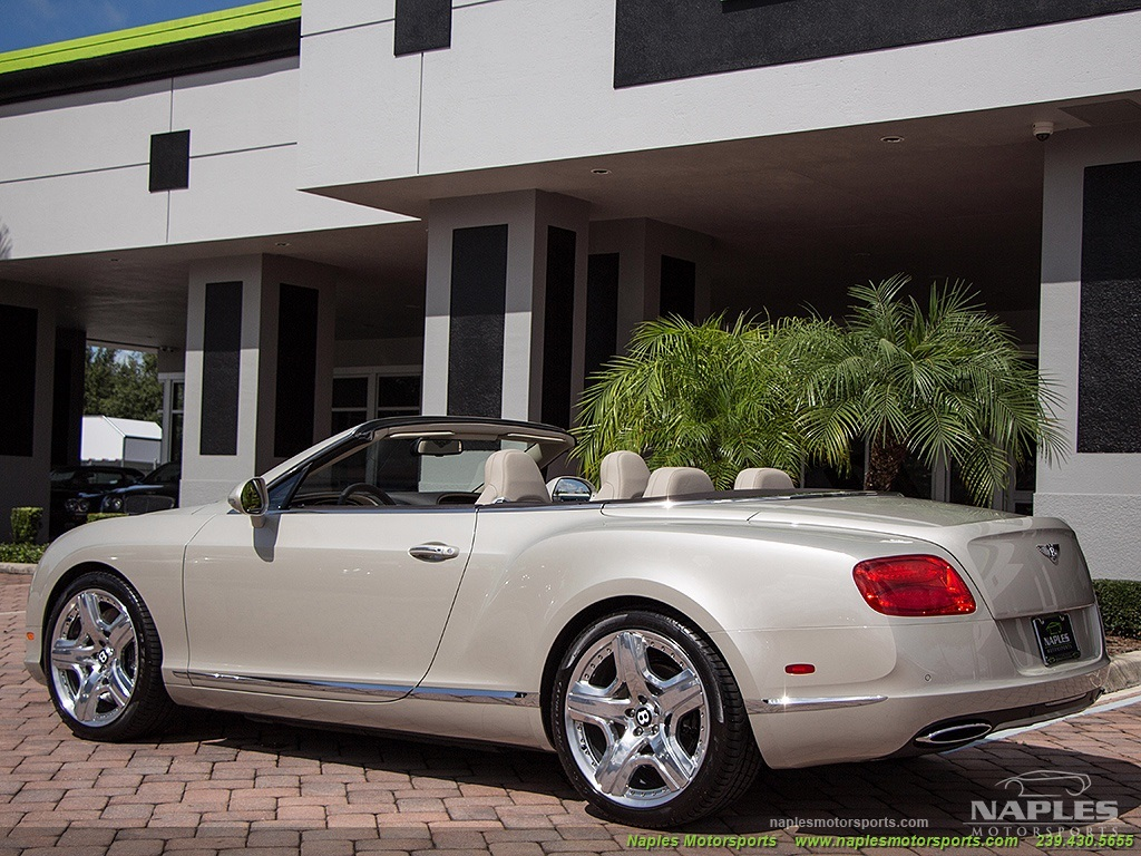 2013 bentley continental gt gtc 2013 bentley continental gt gtc photo 28 naples fl 34104 vanachro Choice Image