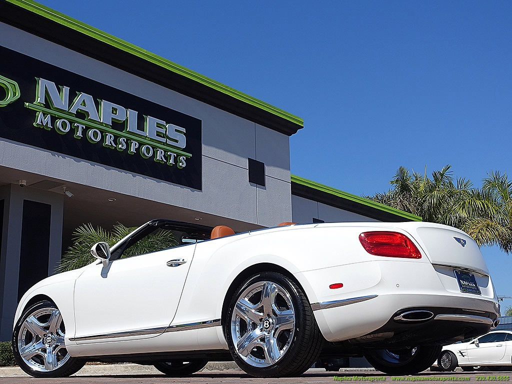 2012 Bentley Continental GT Convertible - Photo 49 - Naples, FL 34104