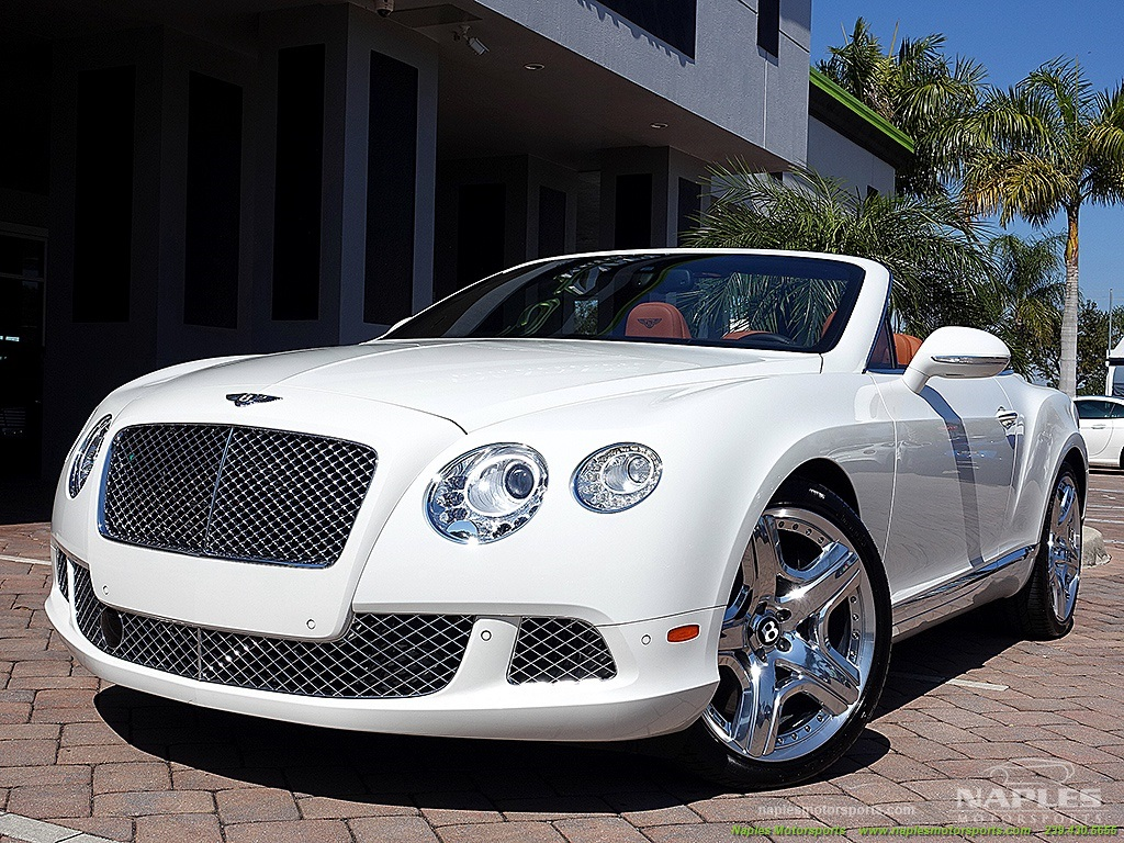 2012 Bentley Continental GT Convertible - Photo 44 - Naples, FL 34104