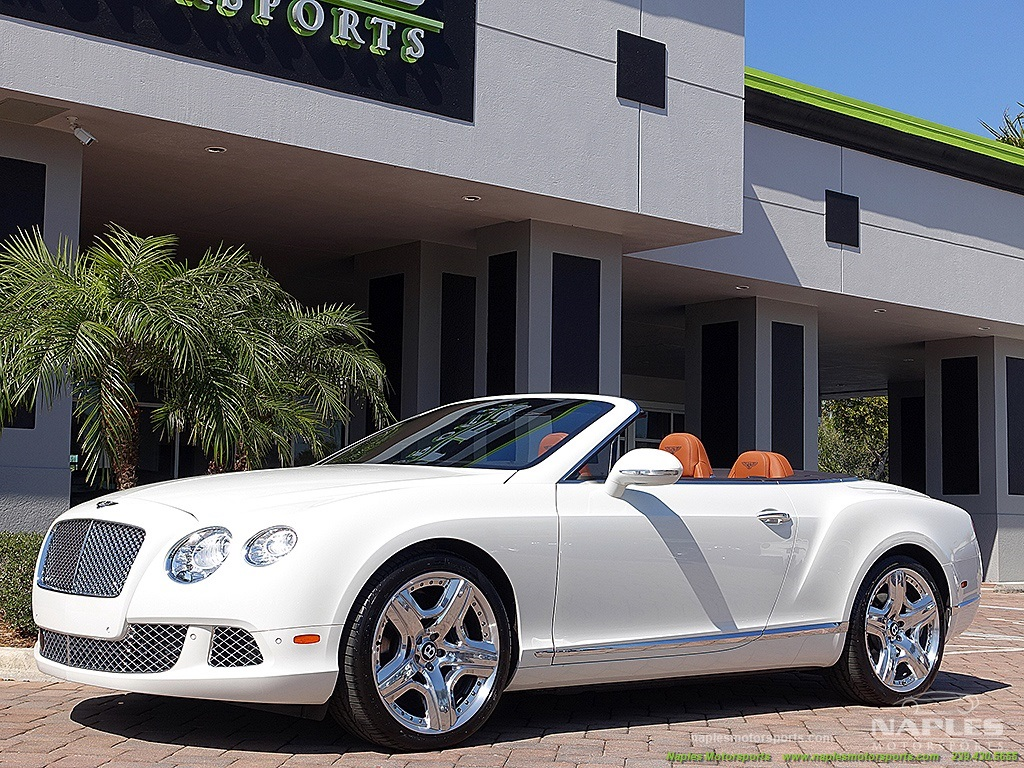 2012 Bentley Continental GT Convertible - Photo 32 - Naples, FL 34104