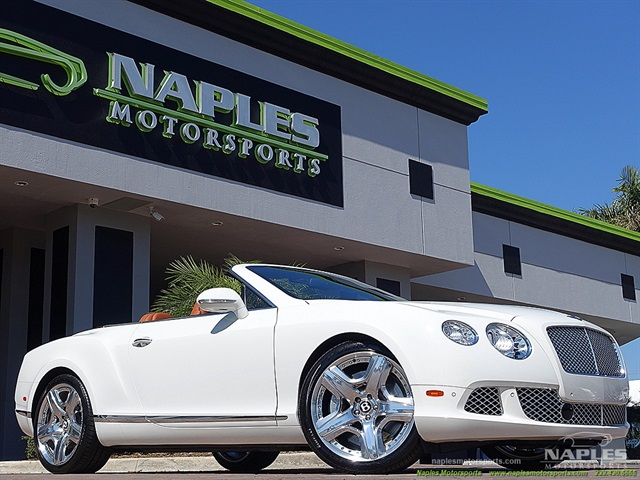 2012 Bentley Continental GT Convertible - Photo 1 - Naples, FL 34104