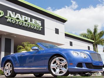 2012 Bentley Continental GT GTC Convertible