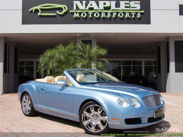 2008 Bentley Continental GT GTC Convertible - Photo 1 - Naples, FL 34104