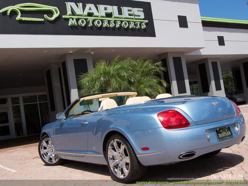 2008 Bentley Continental GT GTC Convertible - Photo 28 - Naples, FL 34104