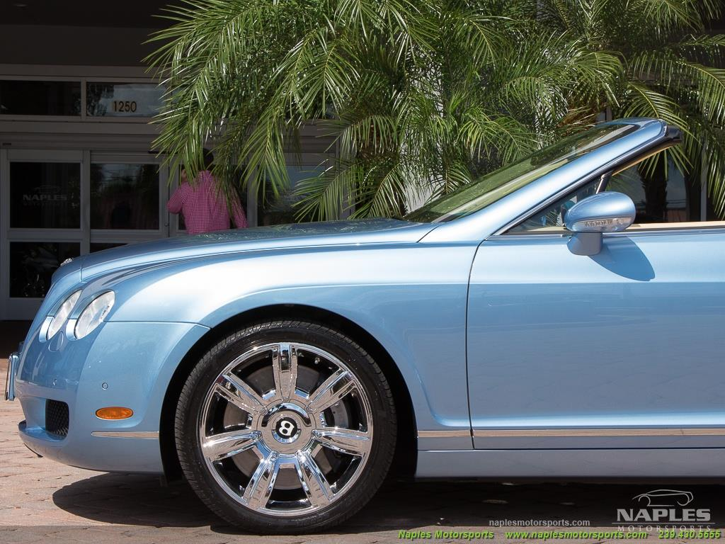 2008 Bentley Continental GT GTC Convertible - Photo 41 - Naples, FL 34104