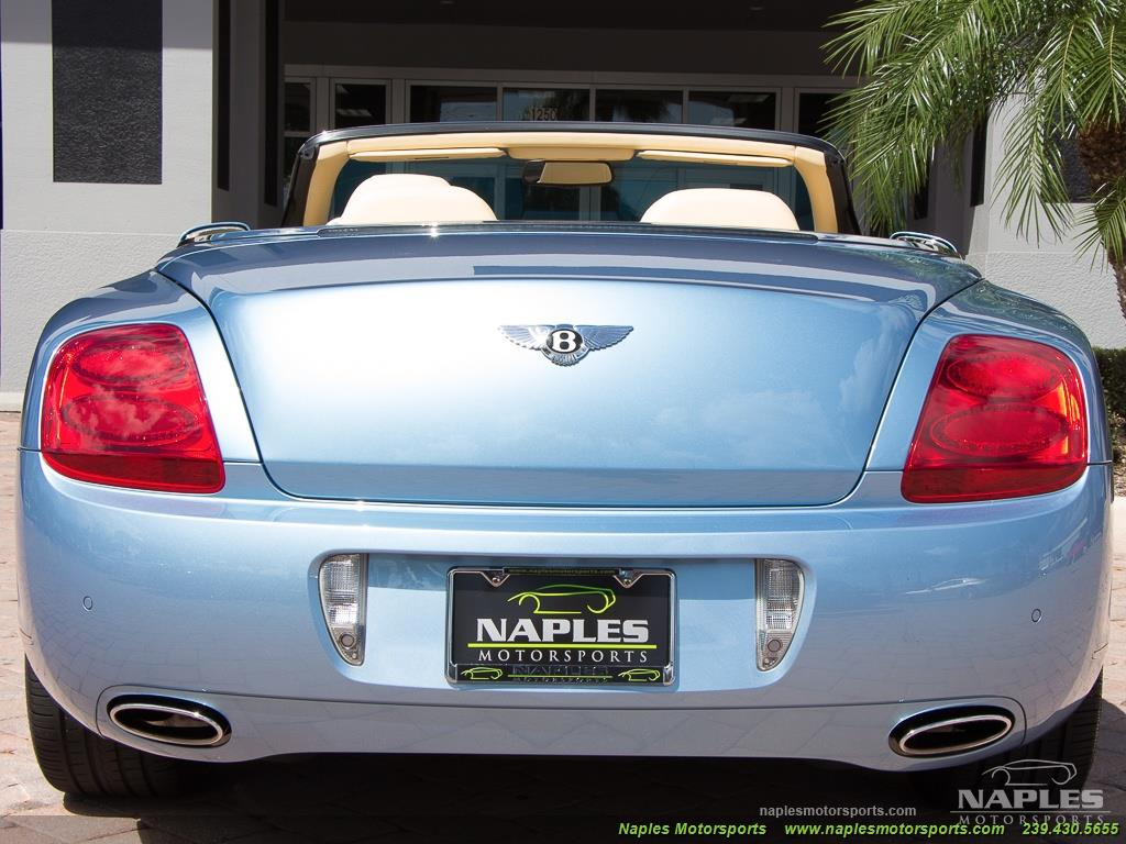 2008 Bentley Continental GT GTC Convertible - Photo 34 - Naples, FL 34104