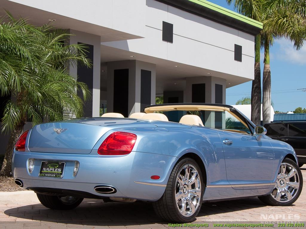 2008 Bentley Continental GT GTC Convertible - Photo 44 - Naples, FL 34104