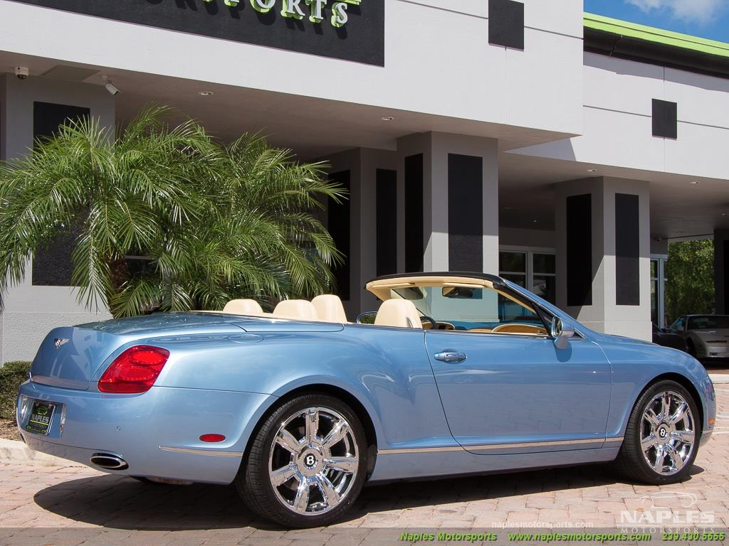 2008 Bentley Continental GT GTC Convertible - Photo 30 - Naples, FL 34104