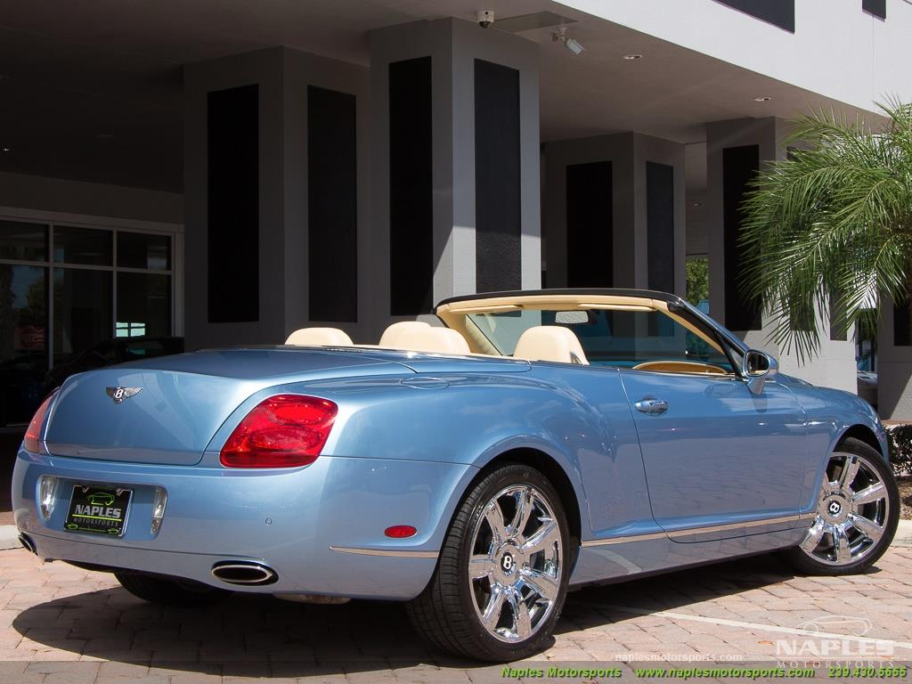 2008 Bentley Continental GT GTC Convertible - Photo 26 - Naples, FL 34104