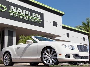 2012 Bentley Continental GT GTC Convertible W12 Convertible