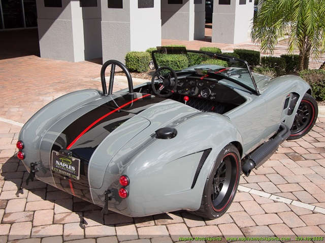 1965 replica kit back draft racing shelby cobra