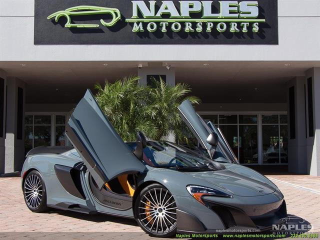 2016 McLaren 675LT Spider - Photo 1 - Naples, FL 34104