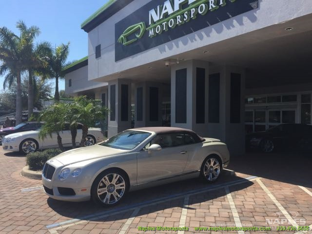 2013 Bentley Continental GTC V8 - Photo 1 - Naples, FL 34104