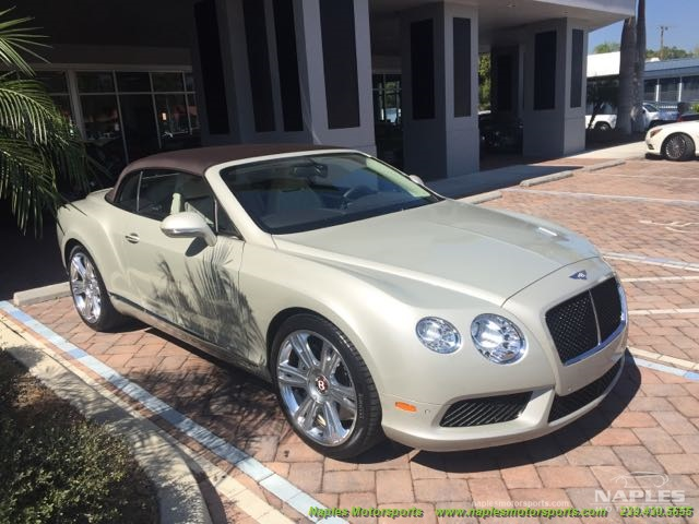 2013 Bentley Continental GTC V8 - Photo 4 - Naples, FL 34104