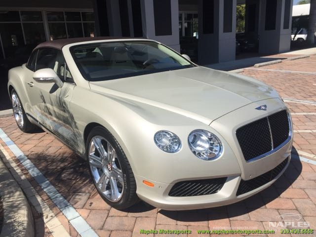 2013 Bentley Continental GTC V8 - Photo 5 - Naples, FL 34104
