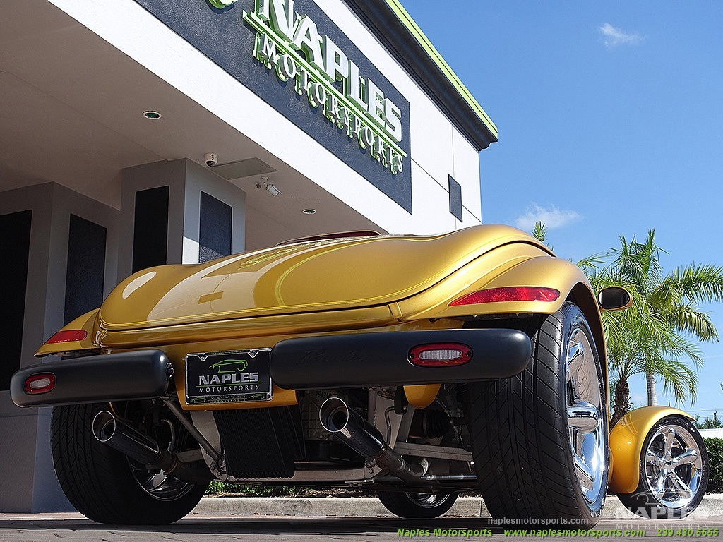 2002 Chrysler Prowler - Photo 30 - Naples, FL 34104