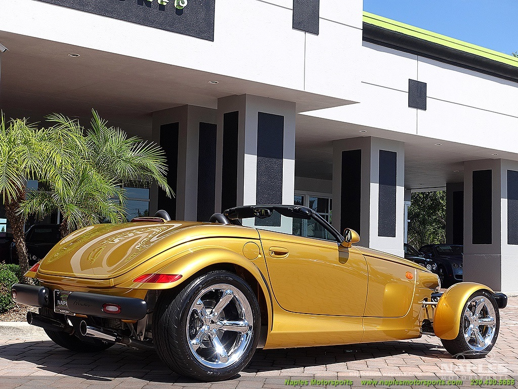 2002 Chrysler Prowler - Photo 40 - Naples, FL 34104