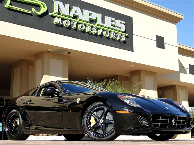 2010 ferrari 599 hgte for Motor vehicle naples fl