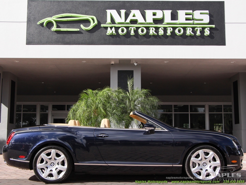 2008 Bentley Continental GT GTC Convertible Mulliner - Photo 14 - Naples, FL 34104