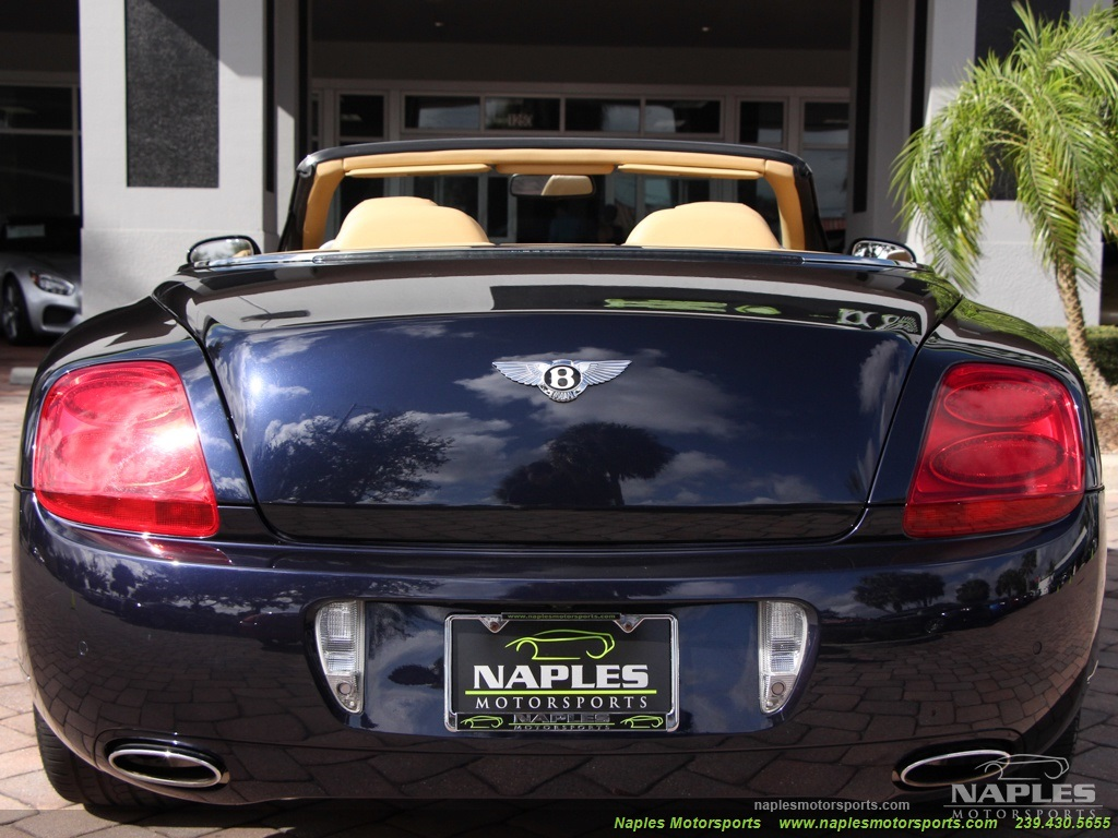 2008 Bentley Continental GT GTC Convertible Mulliner - Photo 25 - Naples, FL 34104