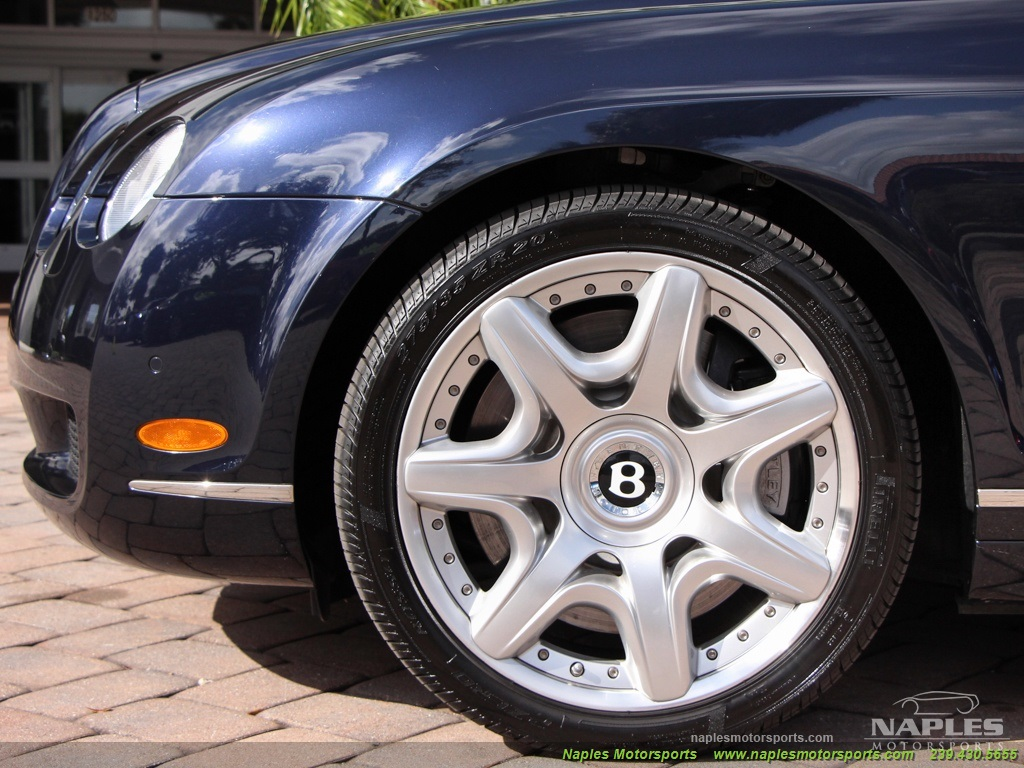 2008 Bentley Continental GT GTC Convertible Mulliner - Photo 38 - Naples, FL 34104