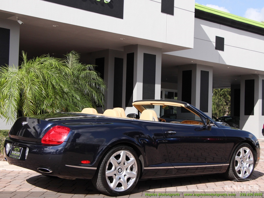 2008 Bentley Continental GT GTC Convertible Mulliner - Photo 15 - Naples, FL 34104