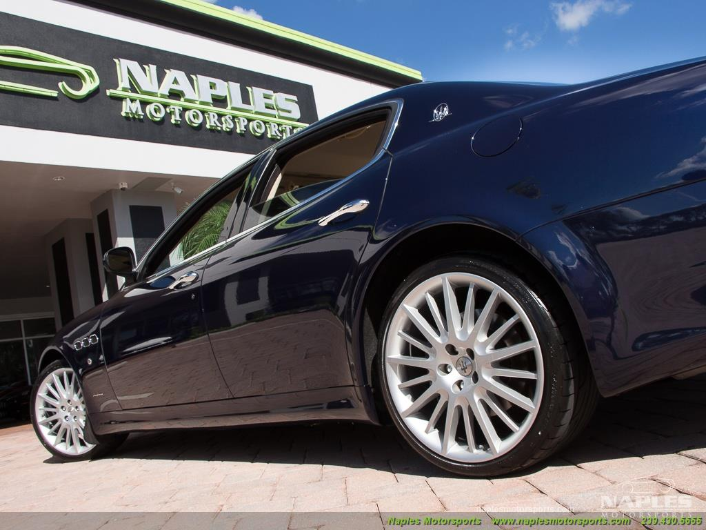 2010 Maserati Quattroporte - Photo 50 - Naples, FL 34104