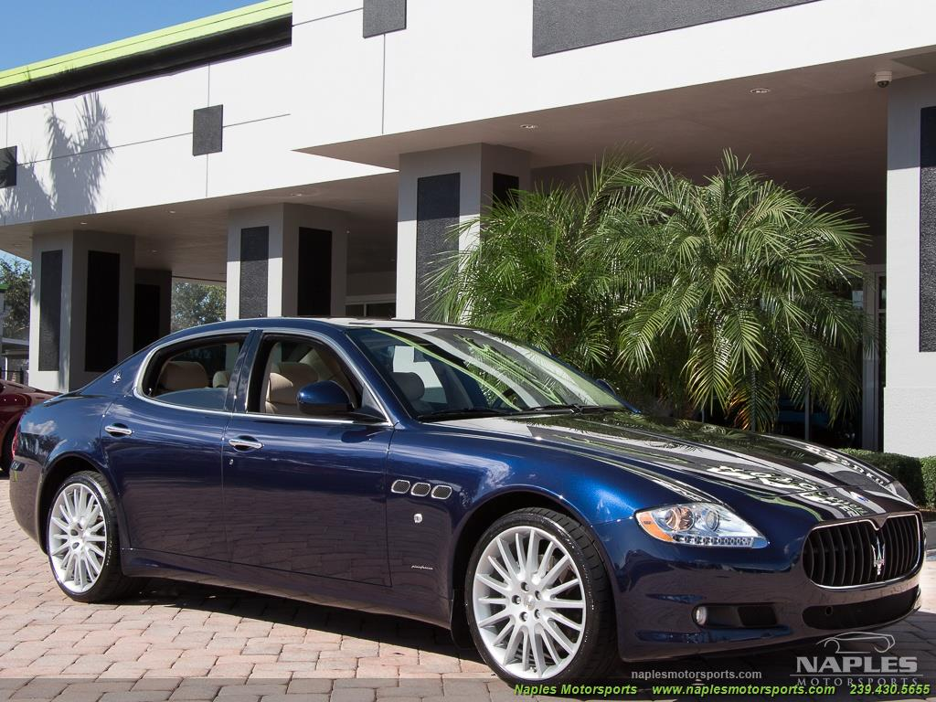 2010 Maserati Quattroporte - Photo 36 - Naples, FL 34104