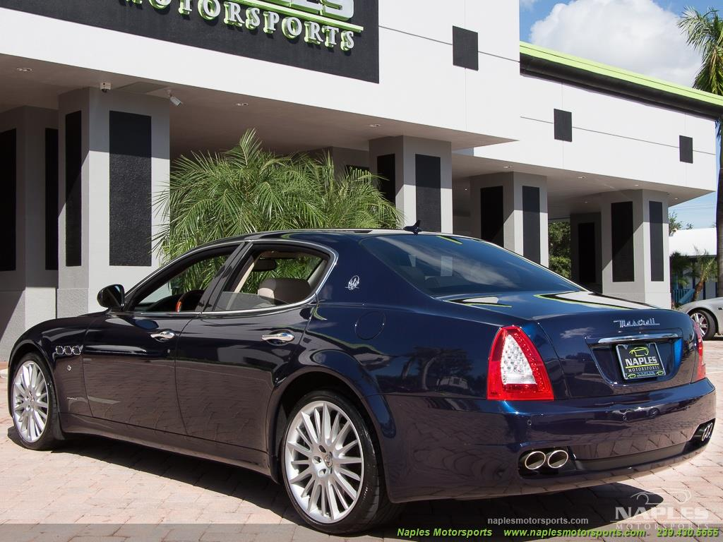 2010 Maserati Quattroporte - Photo 16 - Naples, FL 34104