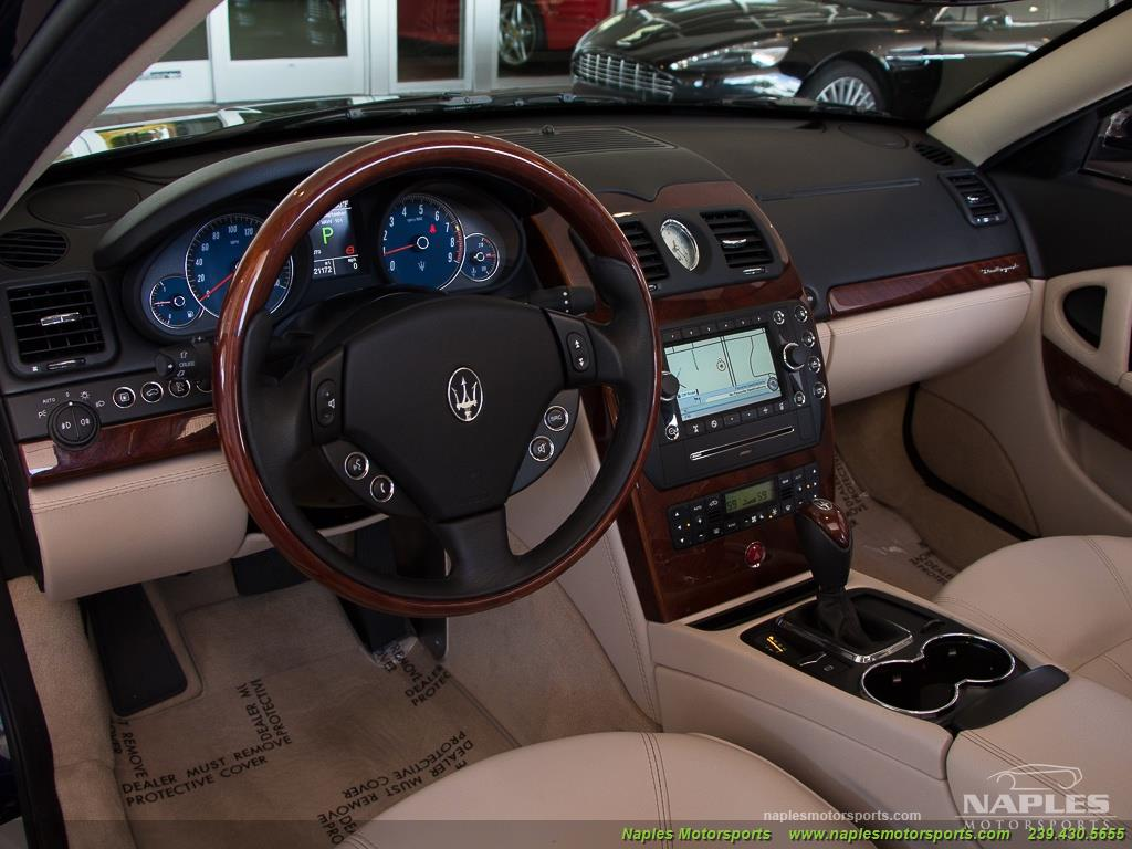 2010 Maserati Quattroporte - Photo 7 - Naples, FL 34104