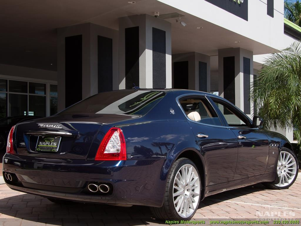 2010 Maserati Quattroporte - Photo 5 - Naples, FL 34104