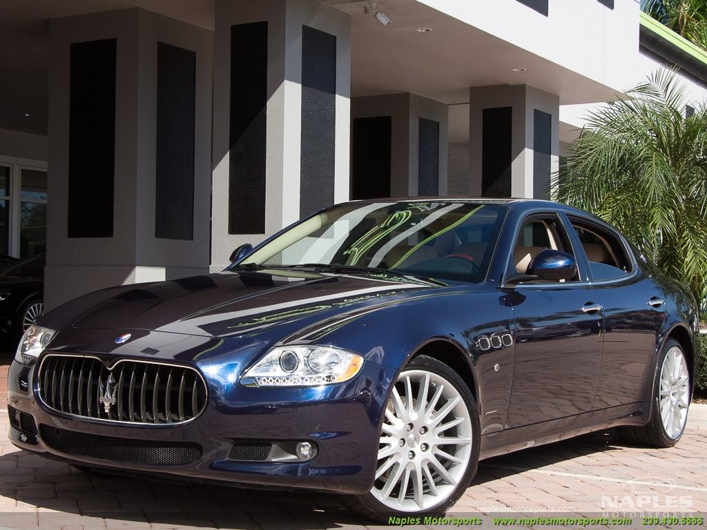 2010 Maserati Quattroporte - Photo 52 - Naples, FL 34104
