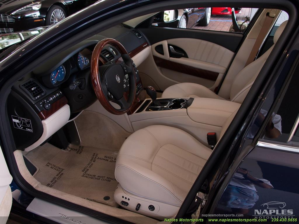 2010 Maserati Quattroporte - Photo 46 - Naples, FL 34104