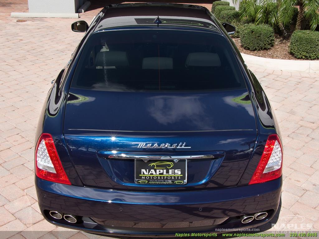 2010 Maserati Quattroporte - Photo 25 - Naples, FL 34104