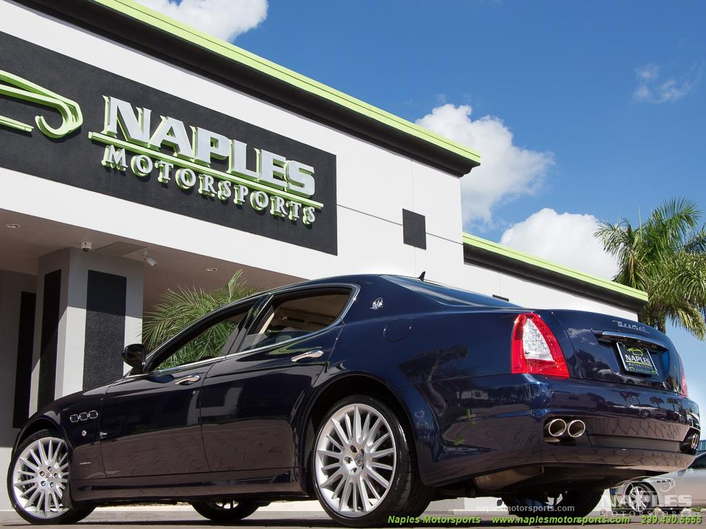 2010 Maserati Quattroporte - Photo 47 - Naples, FL 34104