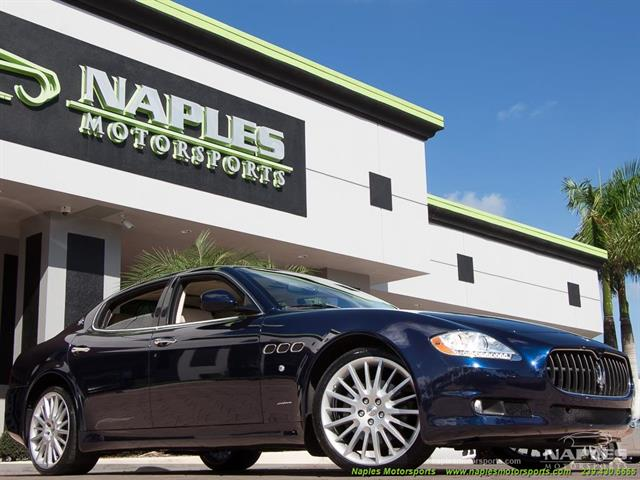 2010 Maserati Quattroporte - Photo 3 - Naples, FL 34104