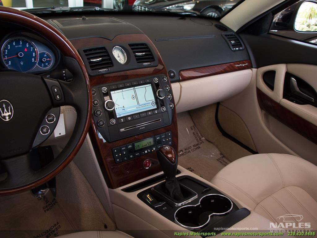 2010 Maserati Quattroporte - Photo 35 - Naples, FL 34104