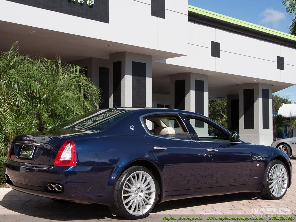 2010 Maserati Quattroporte - Photo 37 - Naples, FL 34104