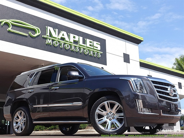 2015 cadillac escalade luxury awd for Motor vehicle naples fl