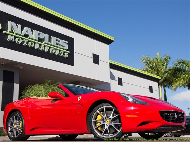 2011 ferrari california for Motor vehicle naples fl