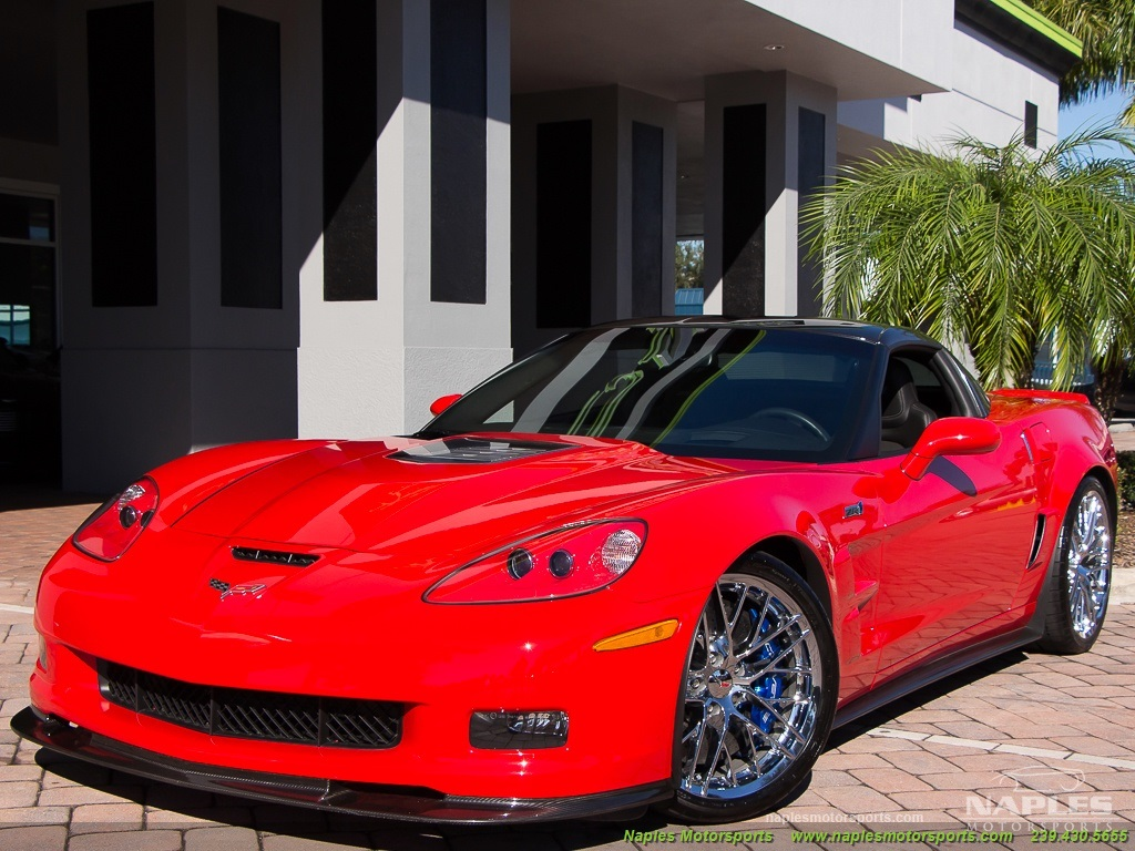 2010 Chevrolet Corvette ZR1 - Photo 51 - Naples, FL 34104
