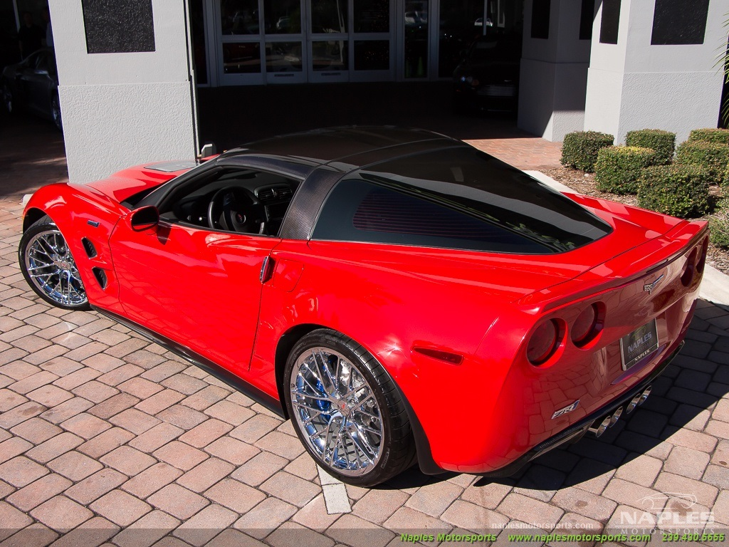 2010 Chevrolet Corvette ZR1 - Photo 49 - Naples, FL 34104
