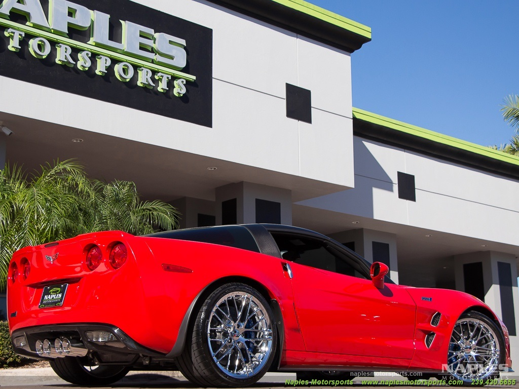 2010 Chevrolet Corvette ZR1 - Photo 34 - Naples, FL 34104