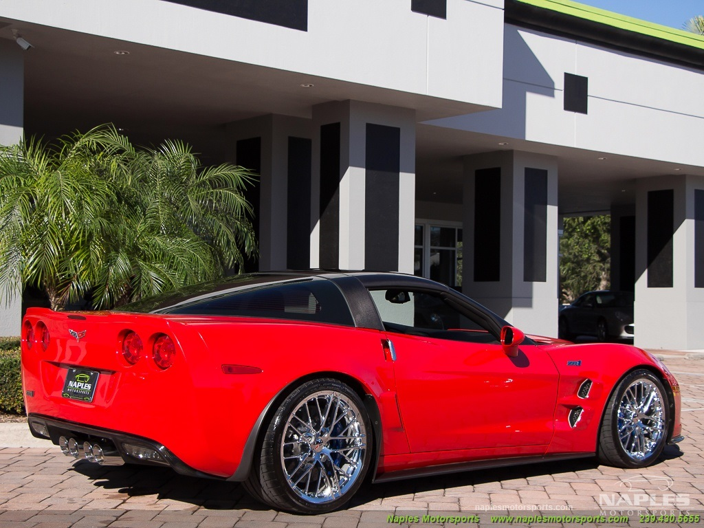 2010 Chevrolet Corvette ZR1 - Photo 26 - Naples, FL 34104