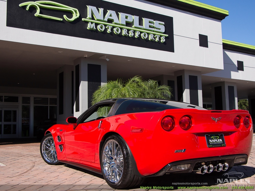2010 Chevrolet Corvette ZR1 - Photo 47 - Naples, FL 34104