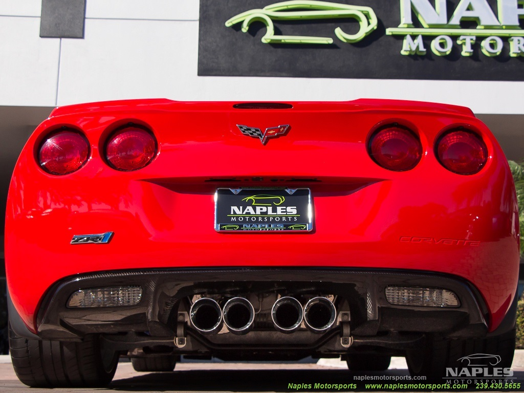 2010 Chevrolet Corvette ZR1 - Photo 43 - Naples, FL 34104