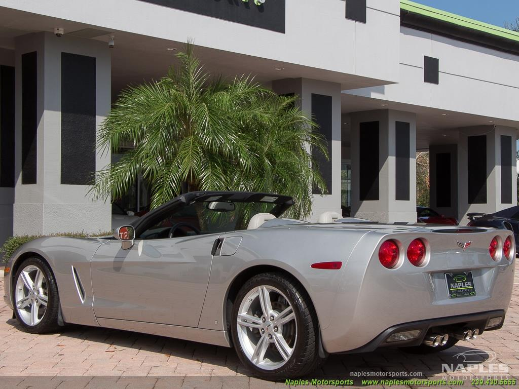 2008 Chevrolet Corvette Convertible - Photo 35 - Naples, FL 34104