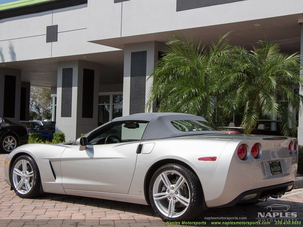 2008 Chevrolet Corvette Convertible - Photo 13 - Naples, FL 34104